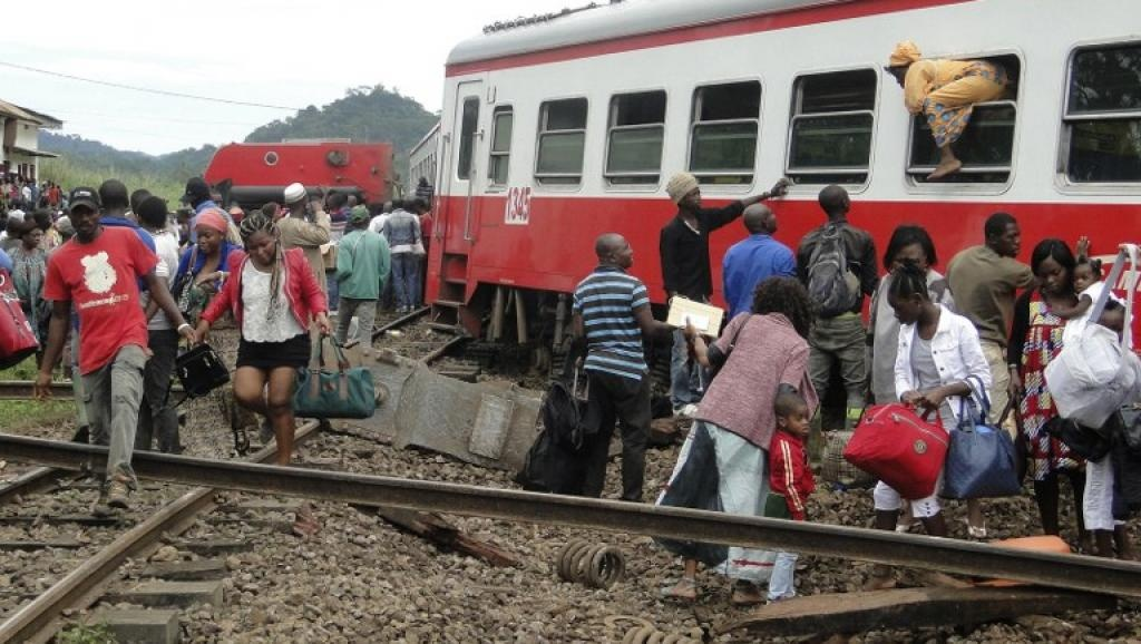 CAMEROON: A PASSENGER TRAIN CARING TRAVELERS DERAILED, 56 DEAD